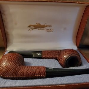 Longchamp leather pipes of France